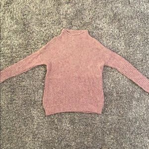 American Eagle Outfitters Cowl Neck Sweater -Mauve